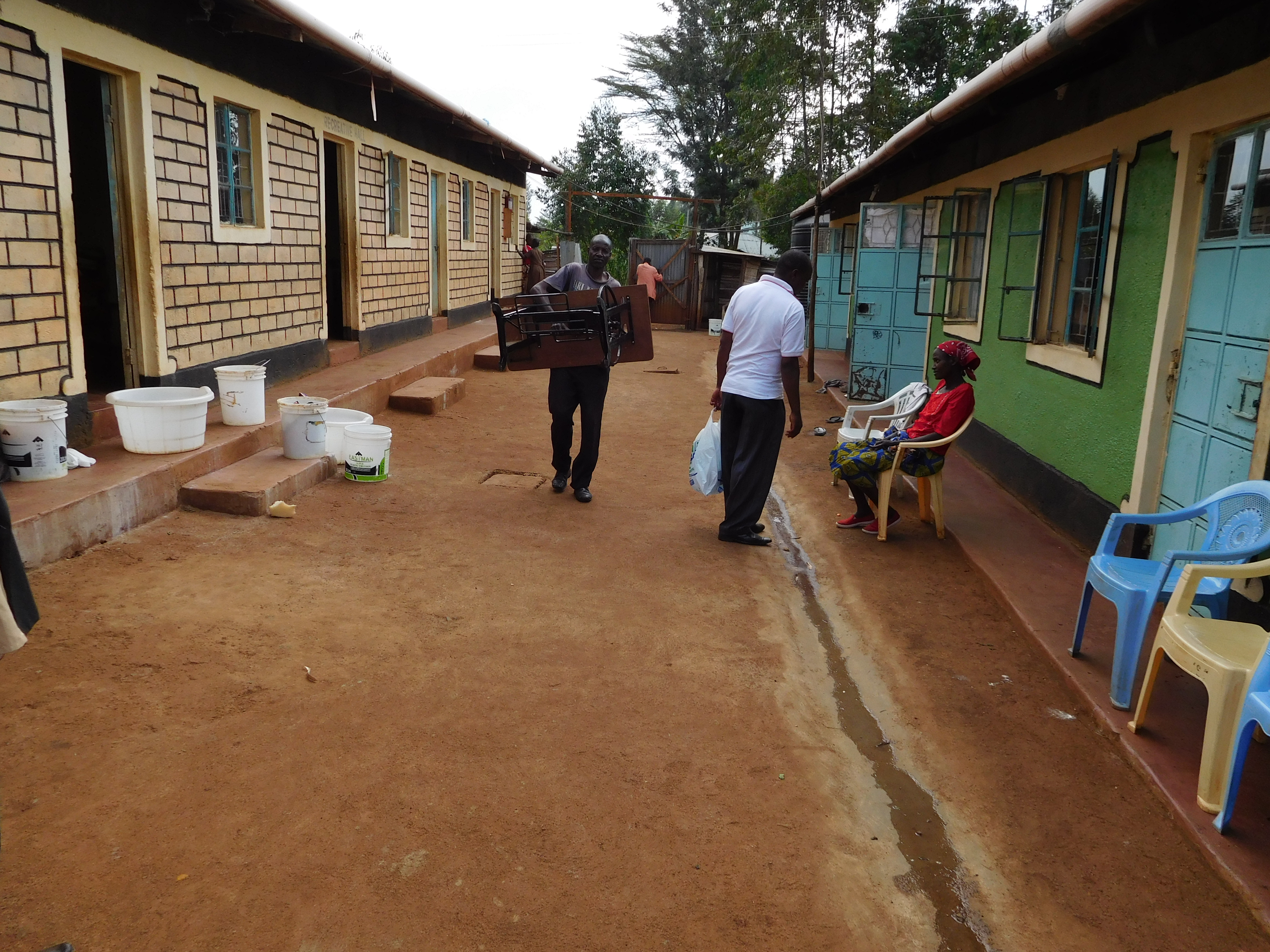 A home for the fatherless and orphaned children called Faithful Children Center.