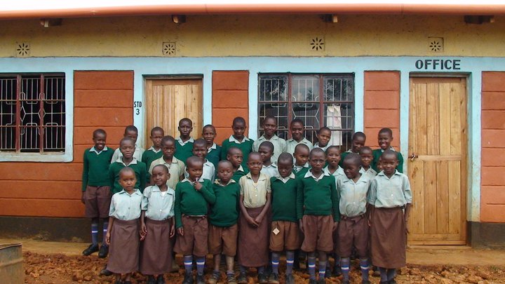 The original fatherless and orphaned students of Child of God Rescue's Wisdom Academy.