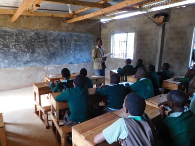 Students at Wisdom Academy