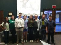 Ben Cobb presents the Mbuya Mono Program to a college class in America